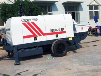 HBTS60R trailer concrete pump