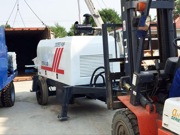 bin packing concrete pump