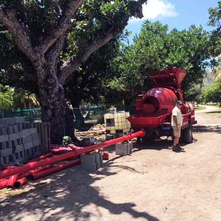 concrete mixer pumpo in Fiji