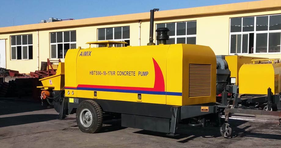 HBT90R diesel concrete pump