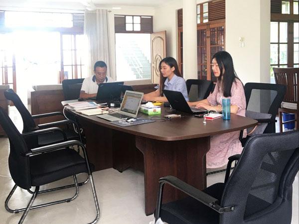 Oficina en Sri Lanka