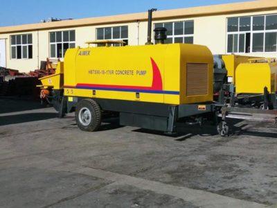 exporting HBT90R diesel concrete pump