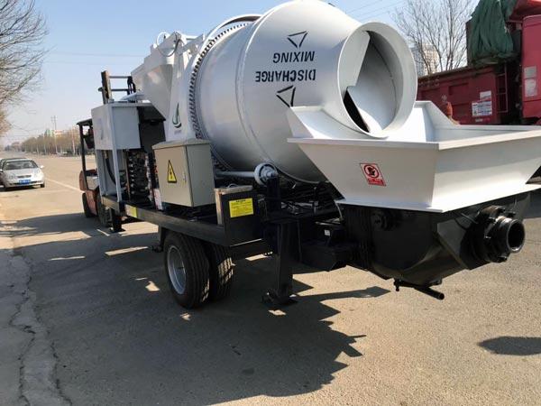 diesel mixing pump