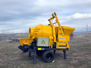 JBS30-10-37 concrete mixing pump