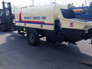 electric concrete pump for sale