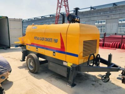 Delivering Concrete Pump in Factory
