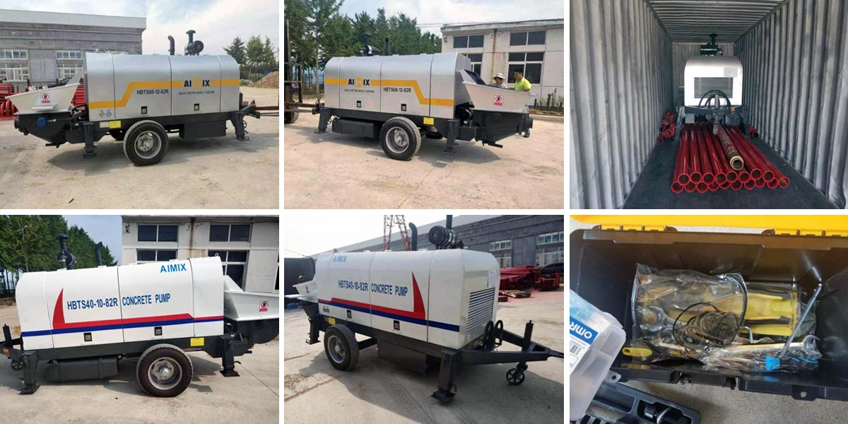 Transporting Concrete Pumps to Pakistan
