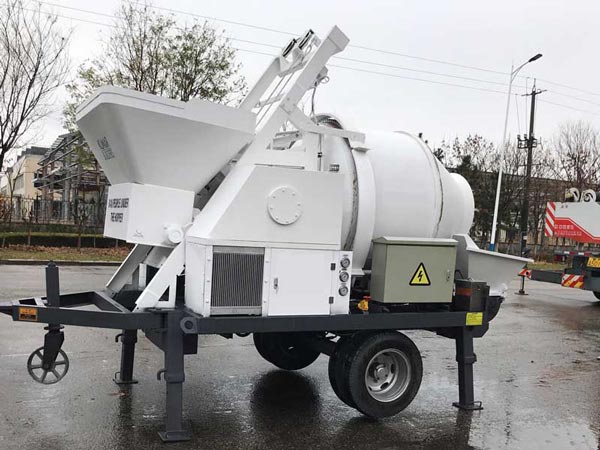 ABJZ30C concrete mix pump