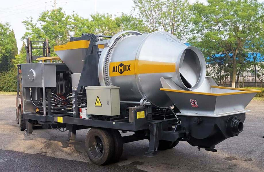 Concrete Mixer Pump Machine for sale