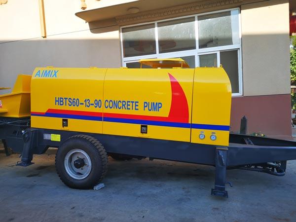 Concrete Pump in Factory