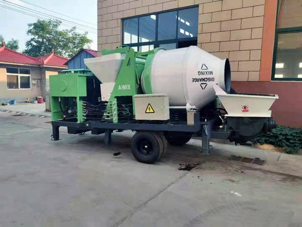 40m3/h concrete mix pump