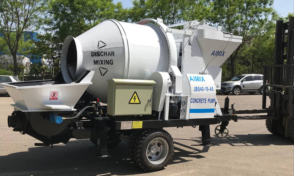 Transporting Mixer Pump to Bangladesh