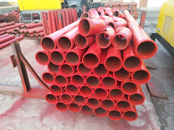 pump pipes