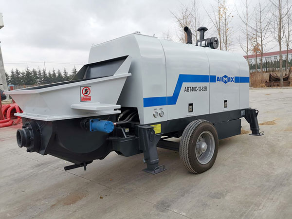 ABT40C diesel Concrete Pump Machine