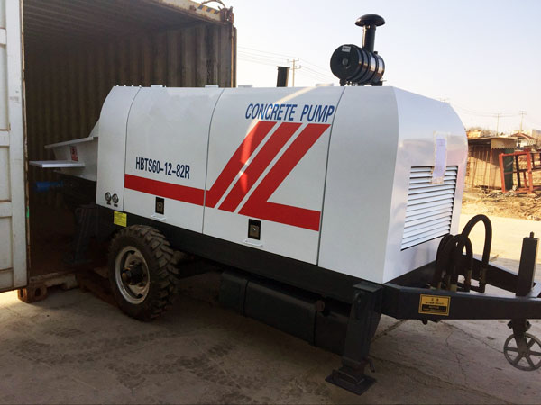 Delivering ABT60C Trailer Pump to Philippines in June, 2019