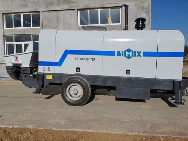 Дизельный бетононасос ABT80C
