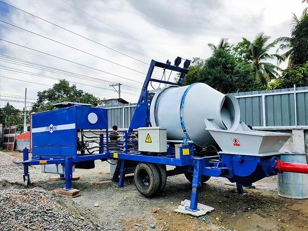 Aimix Concrete Mixer and Pump
