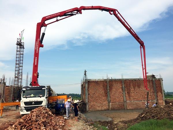 37m Concrete Pump Truck