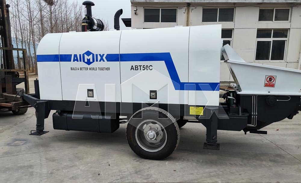 ABT50C Diesel Concrete Pump