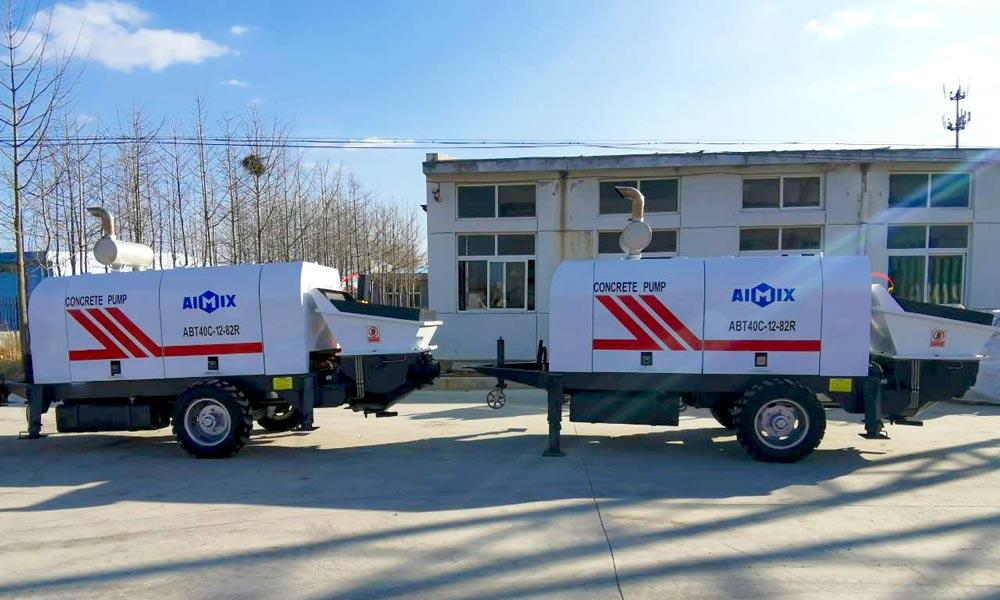 Aimix ABT40C treylerli beton nasoslar