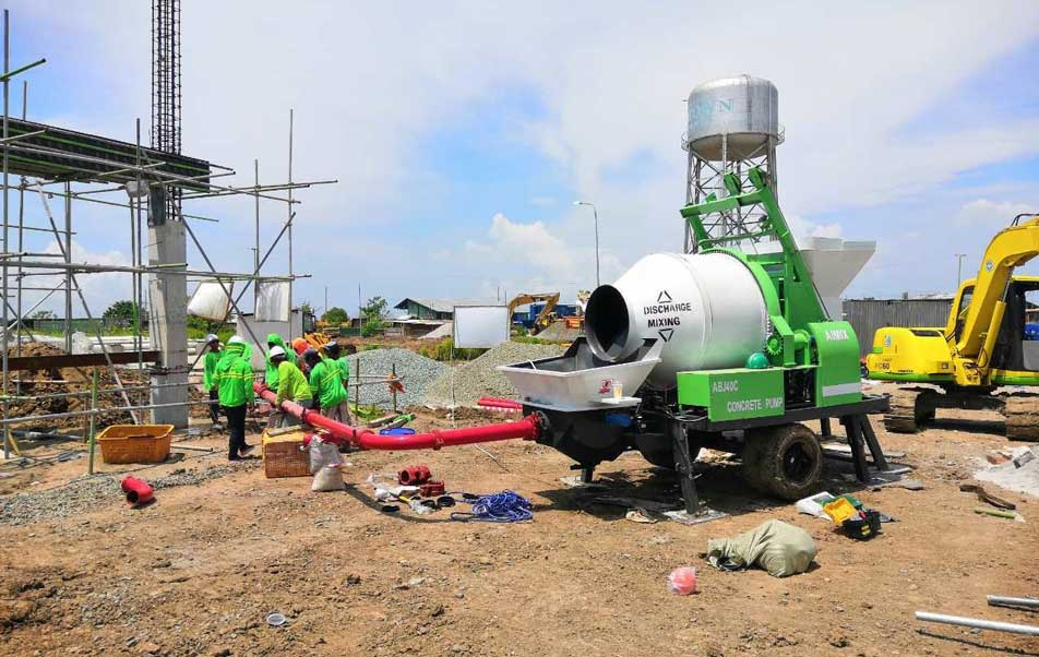 ABJZ40C Cement Mixer Pump