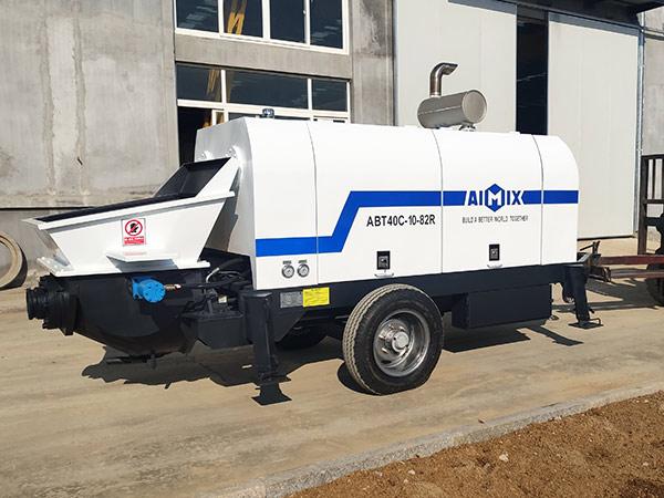Bomba de hormigón diesel ABT40C