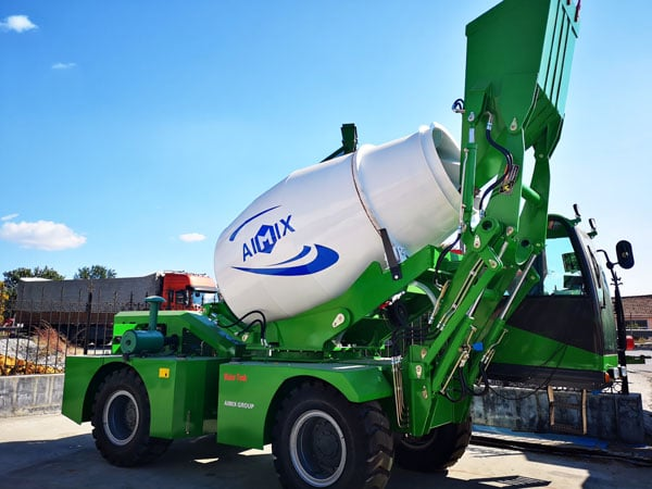 AS-1.8 Self Loading Concrete Mixer with Pump
