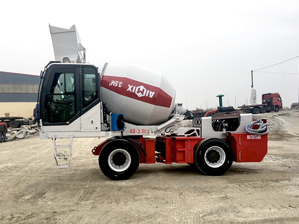 AS-3.5 Self Loader Mixer