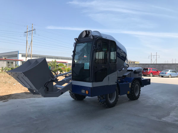 AS-4.0 self loader mixer