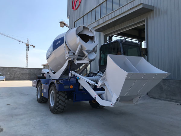 AS-4.0 self loading mixer for sale