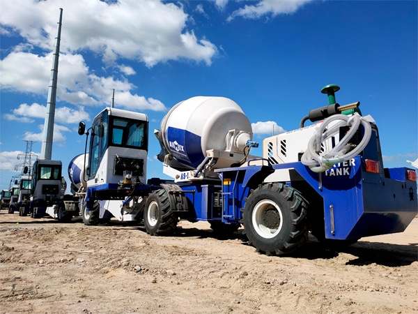 Aimix Self Loader Mixer in the Philippines