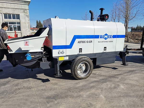60 m3/h Trailer Mounted Pump
