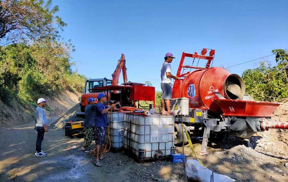 Смеситель для бетонных насосов на Филиппинах