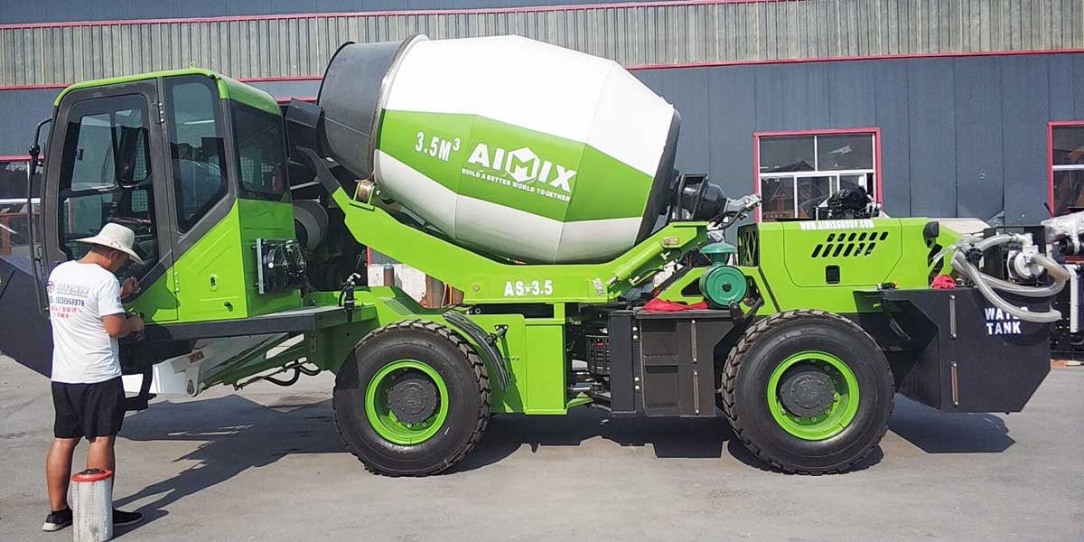 Delivering AS-3.5 Self Loading Mixer to Malaysia