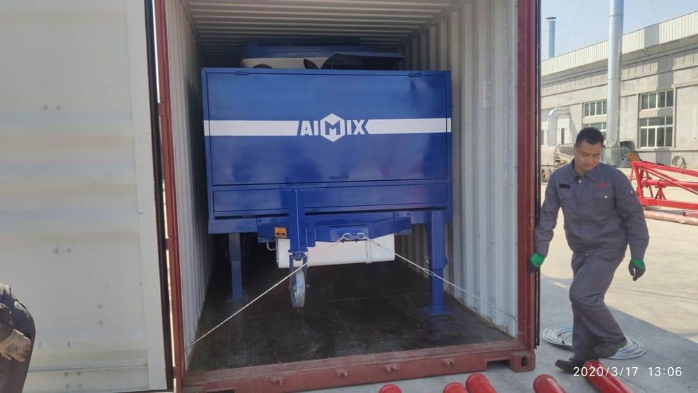 Loading ABJZ40C Mixer Pump