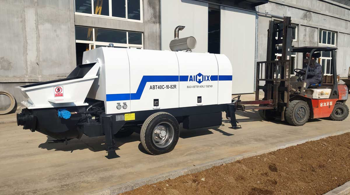 Trailer Concrete Pump for Sale