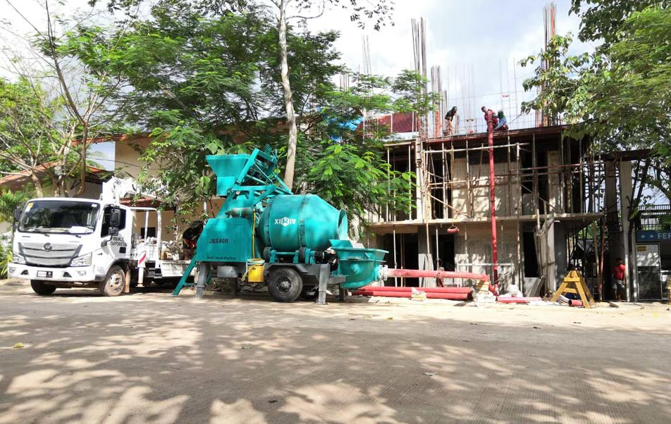 ABJZ40C Concrete Mixing Pump in The Philippines
