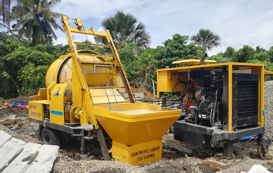 ABJZ40C mixing pump in the Philippines