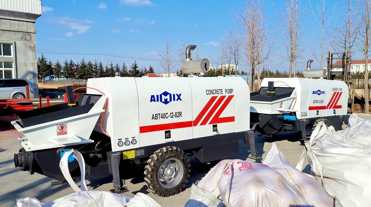 ABT40C Small Concrete Pump