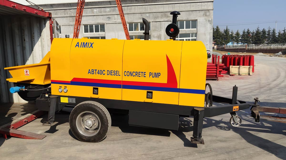 ABT40C small trailer pump