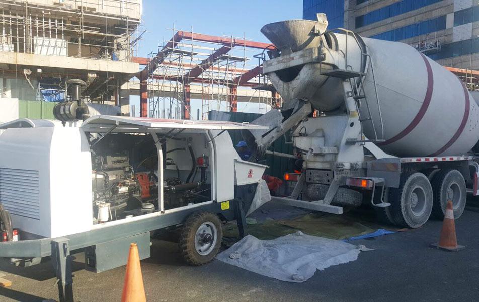 ABT60C Diesel Concrete Pump in The Philippines
