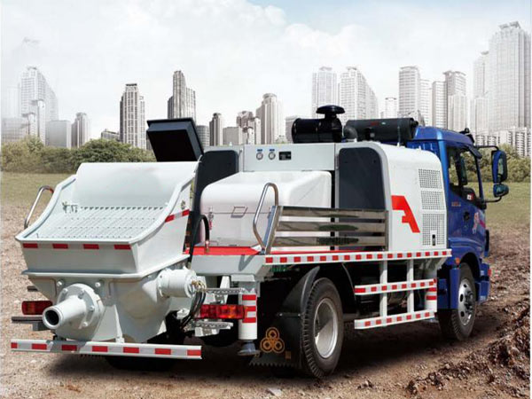Aimix Truck-mounted Concrete Pumps
