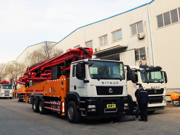 THB44-5RZ Concrete Boom Pump for Sale