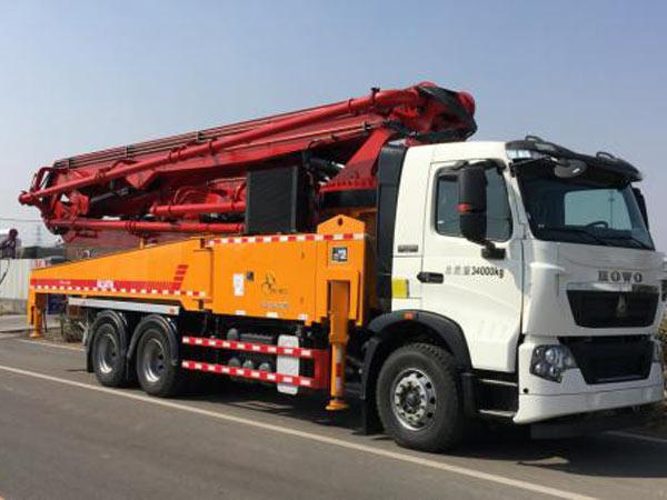 THB47-6RZ Boom Concrete Pump