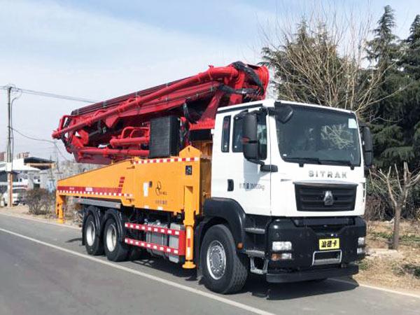 THB50-6RZ Concrete Pump Truck
