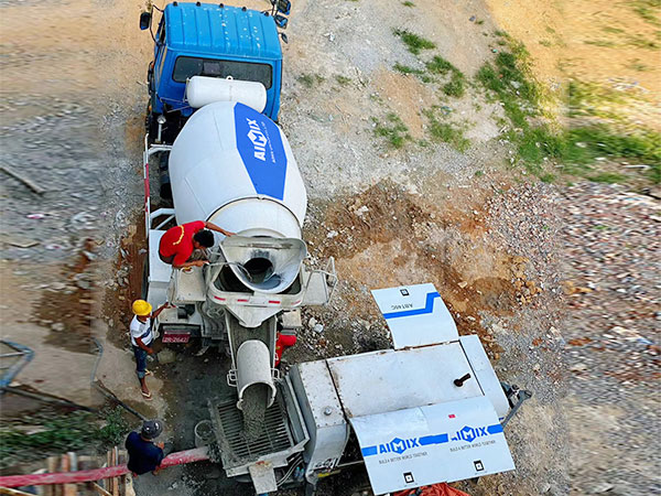 Diesel Pump working in Burma