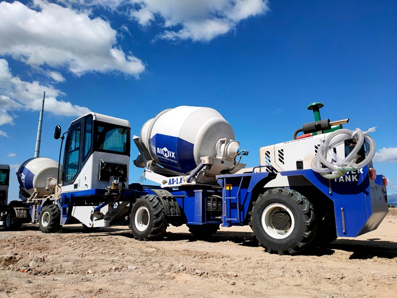 AS-1.8 Self Loading Concrete Mixer