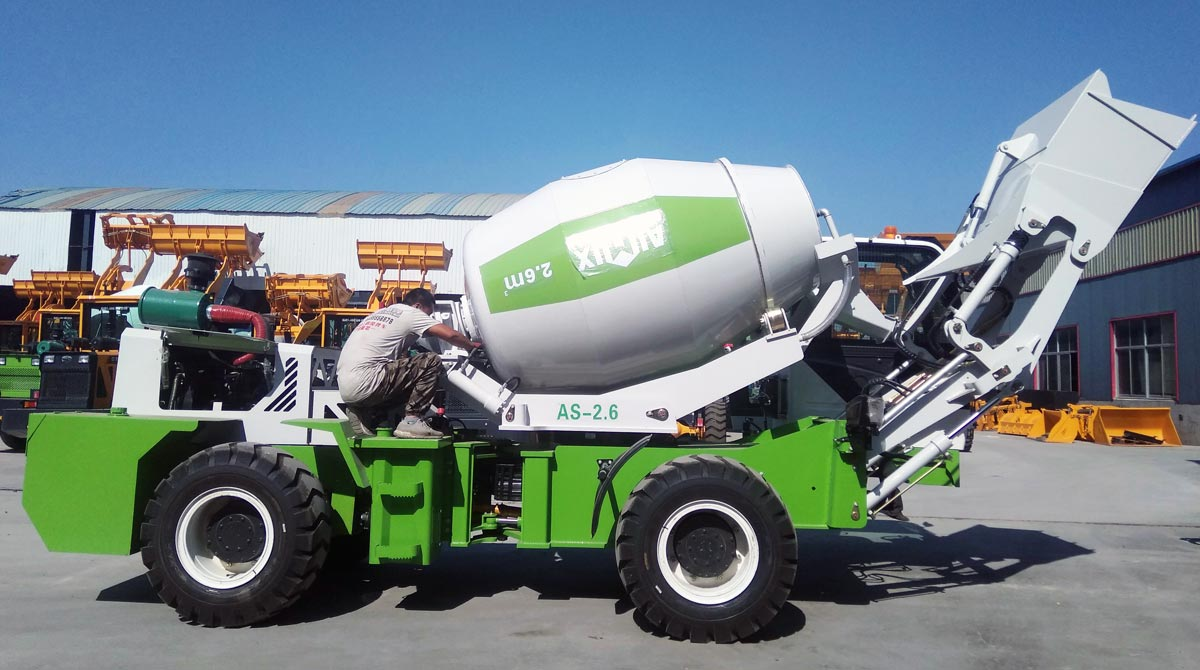 AS Series Self Loading Concrete Mixer