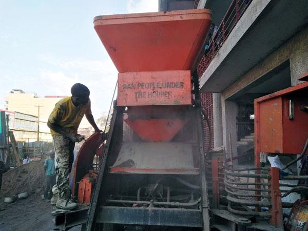 Concrete Mixer Pump for Rural Building Construction