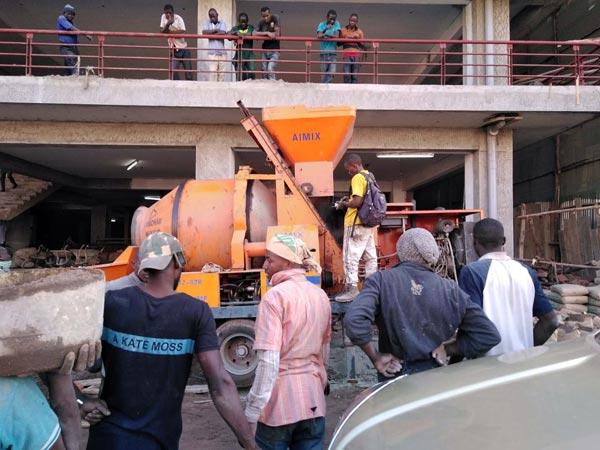 Concrete Mixer Pump in Nigeria